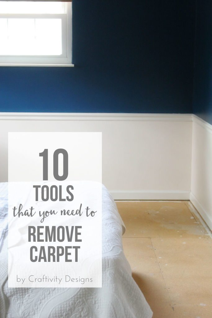 bedroom with subfloors, no carpet, 10 tools that you need to remove carpet