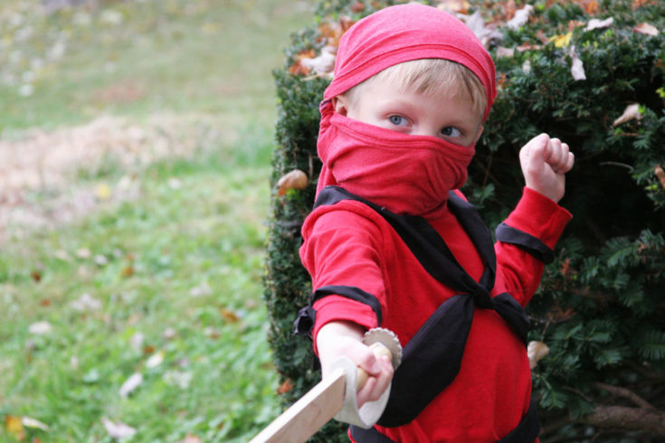 How to Make an Easy Ninja Costume