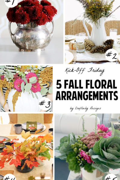 5 Unique Fall Floral Arrangements