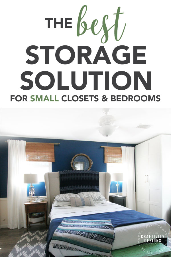 The Best Storage Solution for Small Closets and Bedroom, Wardrobe vs Dresser