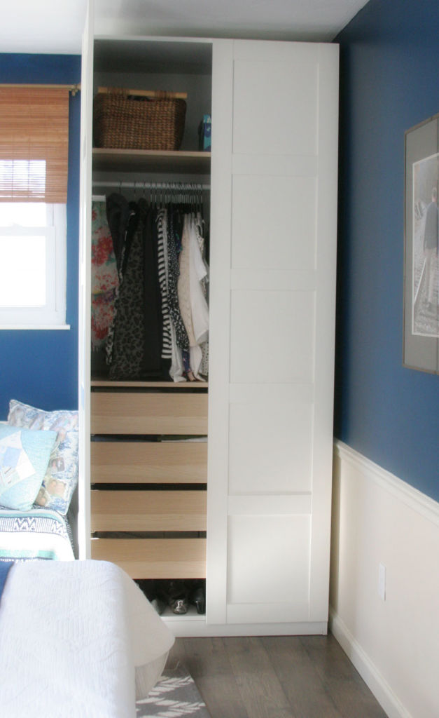 Ikea Pax Wardrobe Small Bedroom Small Closets05