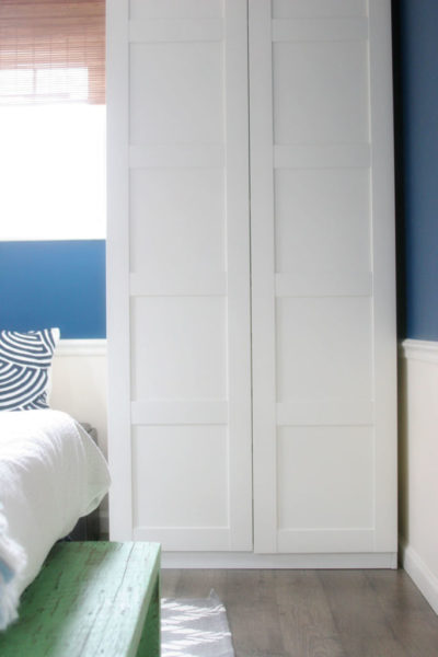 Wardrobes or Dressers? // Working with a Small Closet