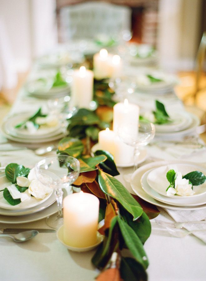 22 Ways To Decorate With Magnolia Leaves Page 2 Of 3