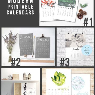 15 Printable 2016 Calendars