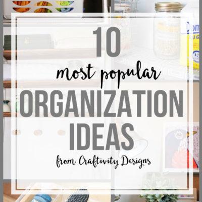10 Popular Organization Ideas