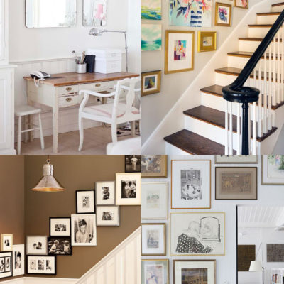 Gallery Wall Inspiration // Kick-Off Friday