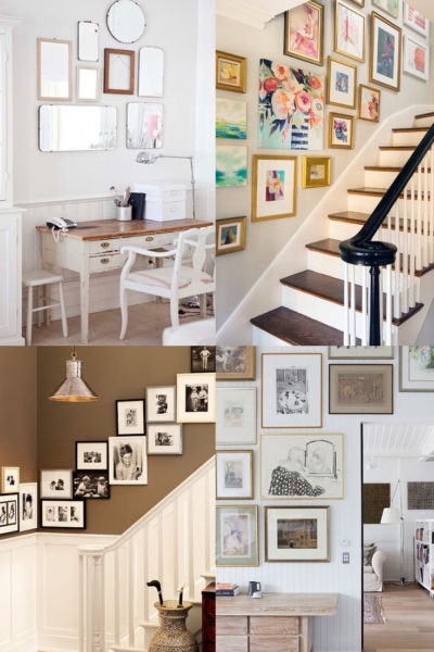 10+ Art and Picture Hanging Ideas | Gallery Wall Inspiration
