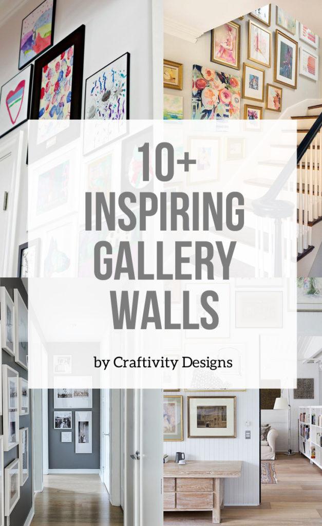 10+ Inspiring Gallery Walls
