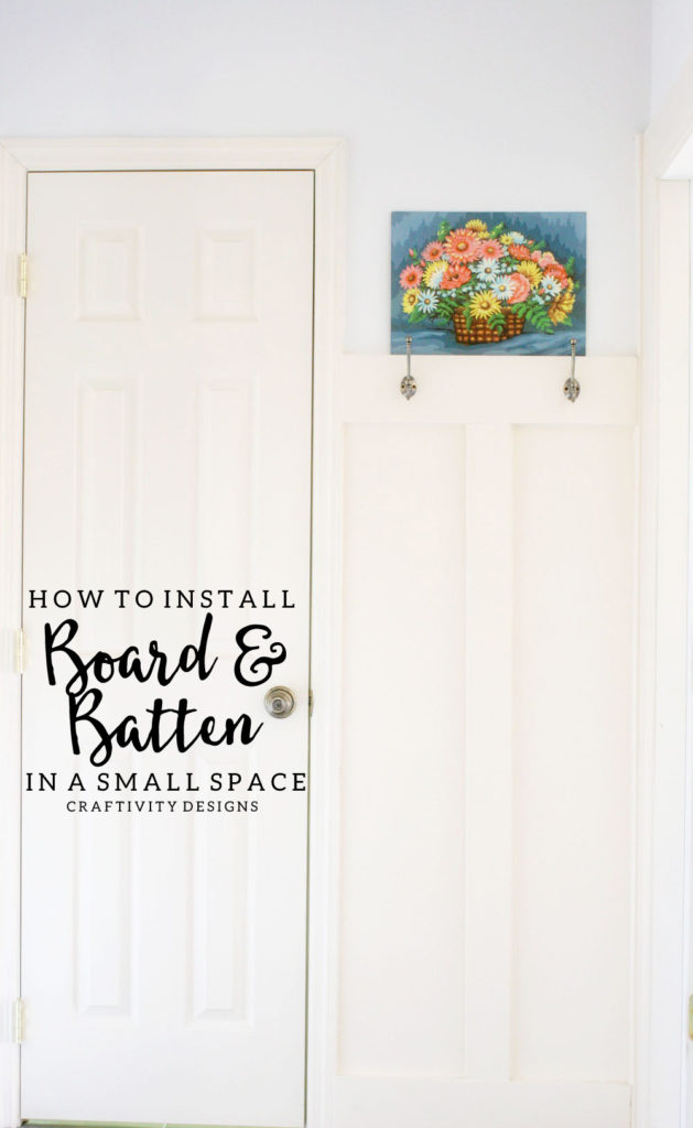 How to Install Board and Batten in a Small Space with Examples