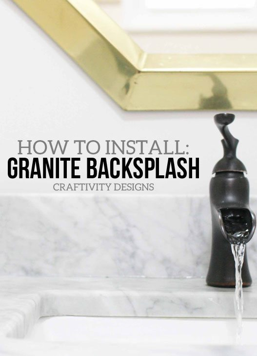 How to Install a Marble or Granite Backsplash