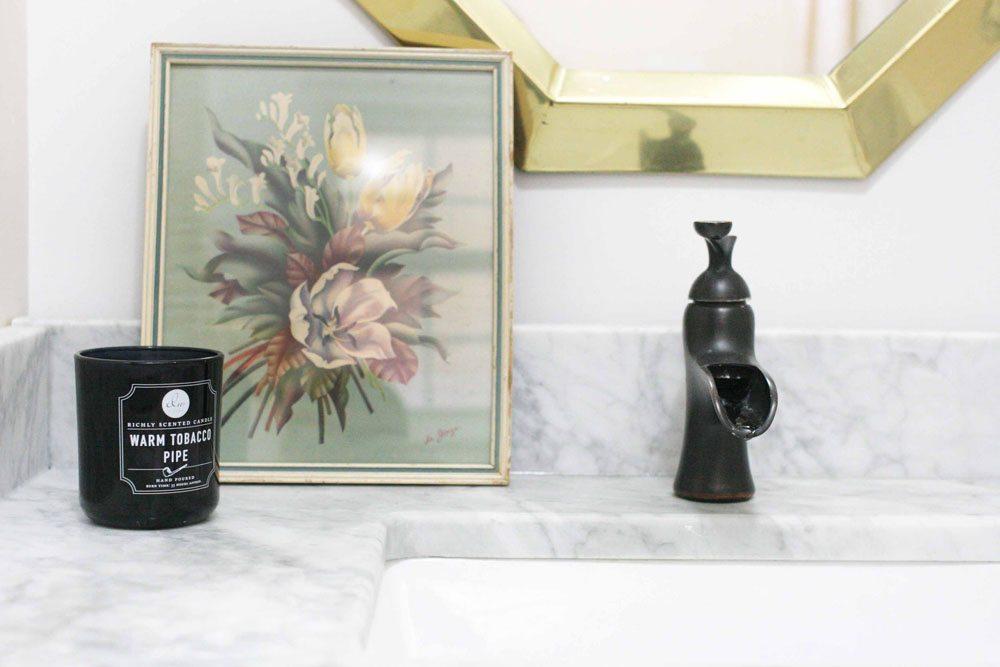 how to install a granite backsplash or marble backsplash and