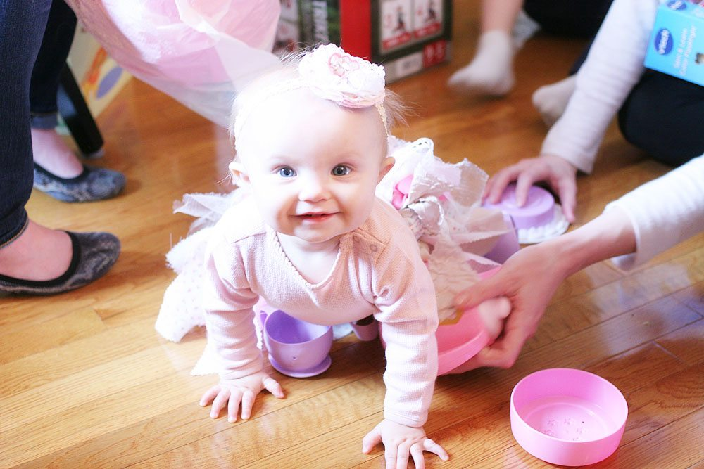 Vintage Baby Girl First Birthday Party Ideas