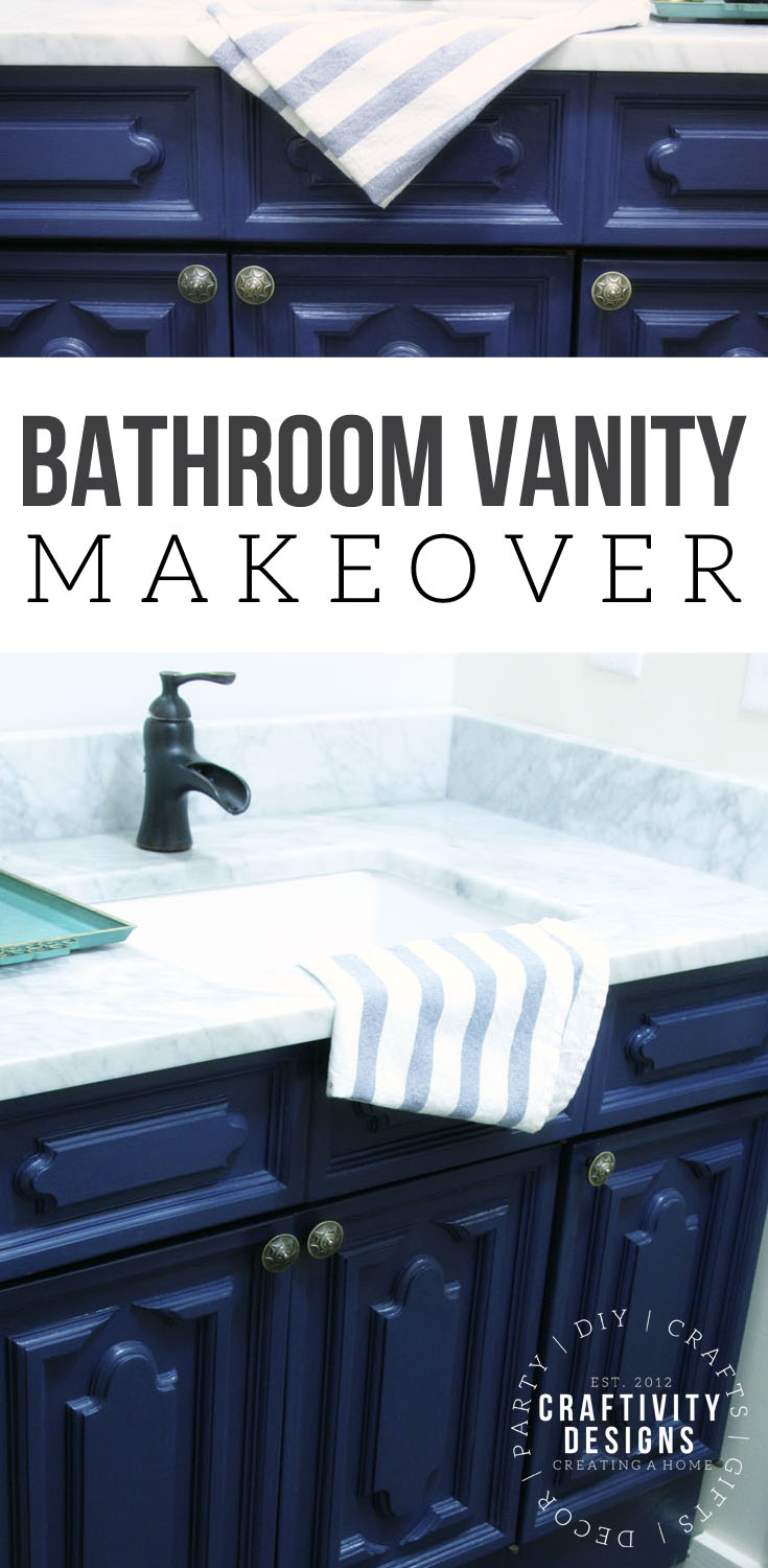 How to make a bathroom vanity taller and deeper, Bath Vanity Makeover, Painted Furniture Ideas, Bath Renovation Ideas, #bath #renovation #beforeandafter