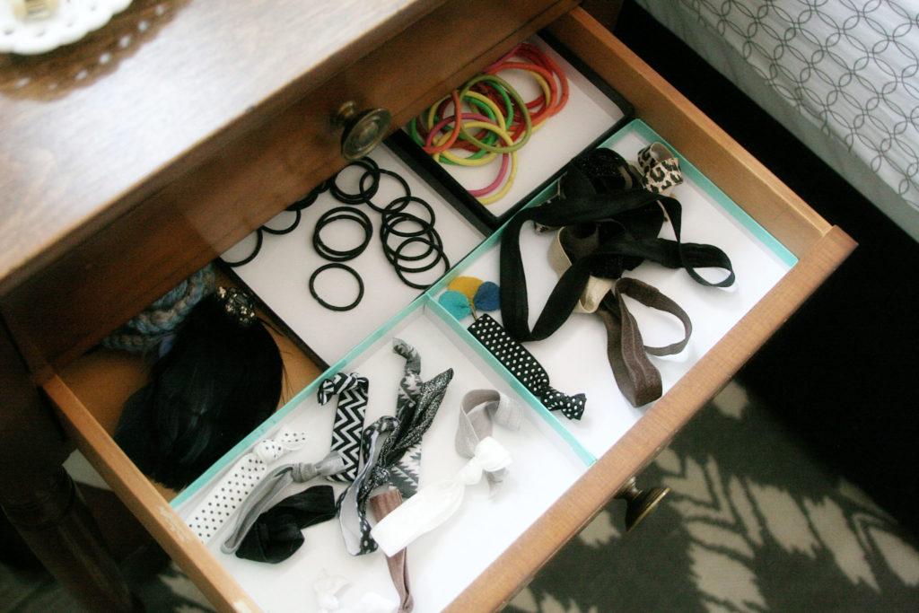 Small Nightstand Organization, Jewelry Storage Ideas