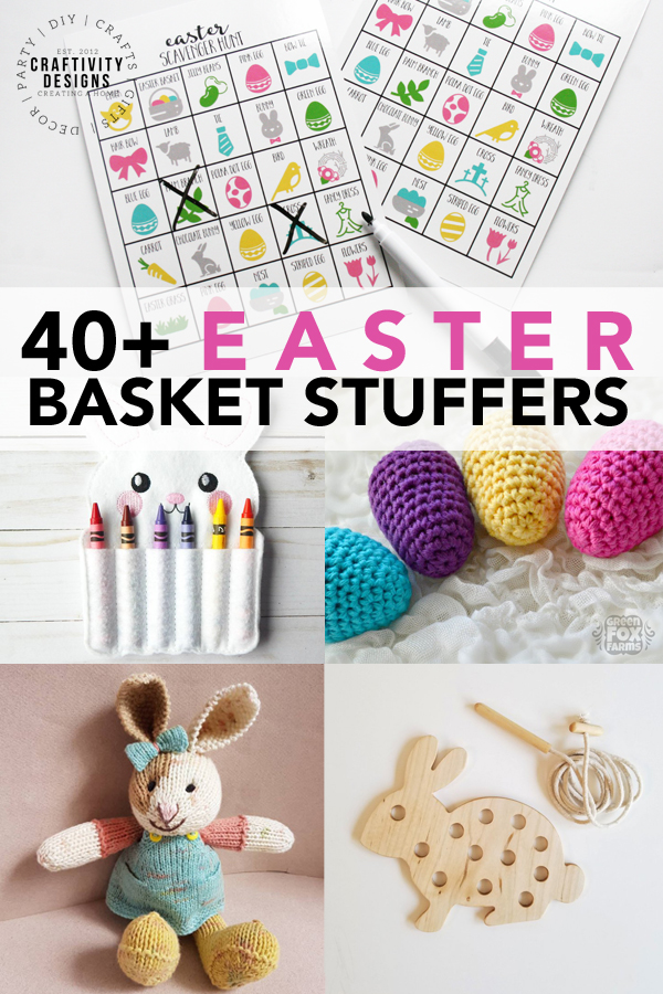 40+ Easter Basket Stuffers for Kids (babies, toddlers, preschoolers, boys, and girls)