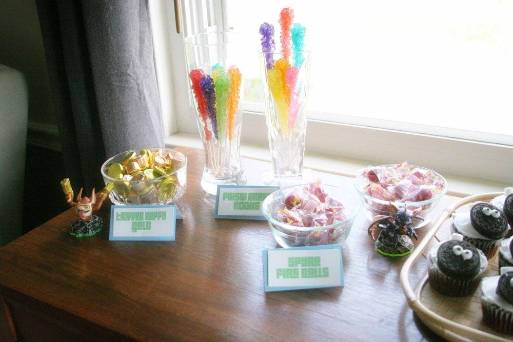 Easy Skylanders Birthday Party, Candy Bar, Party Favor, by @CraftivityD