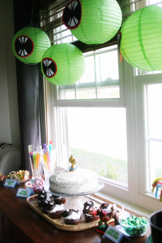 An Easy Skylanders Birthday Party - Craftivity Designs
