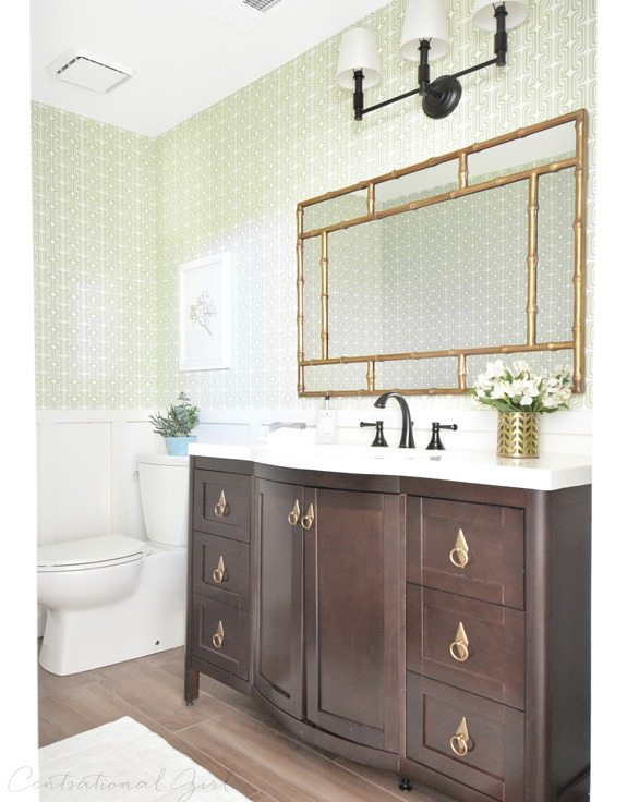 Mix brass or gold hardware with oil-rubbed bronze finishes. How to work with Brass hardware. via @CraftivityD