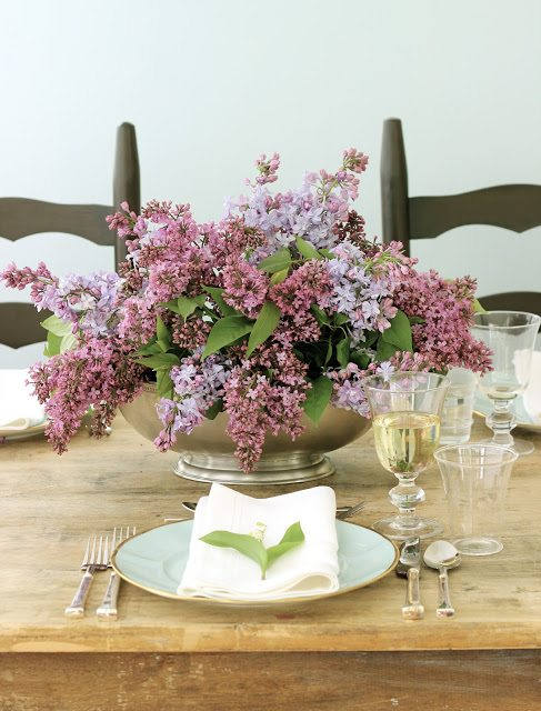 15 Spring Floral Arrangement Ideas // Pink, Purple