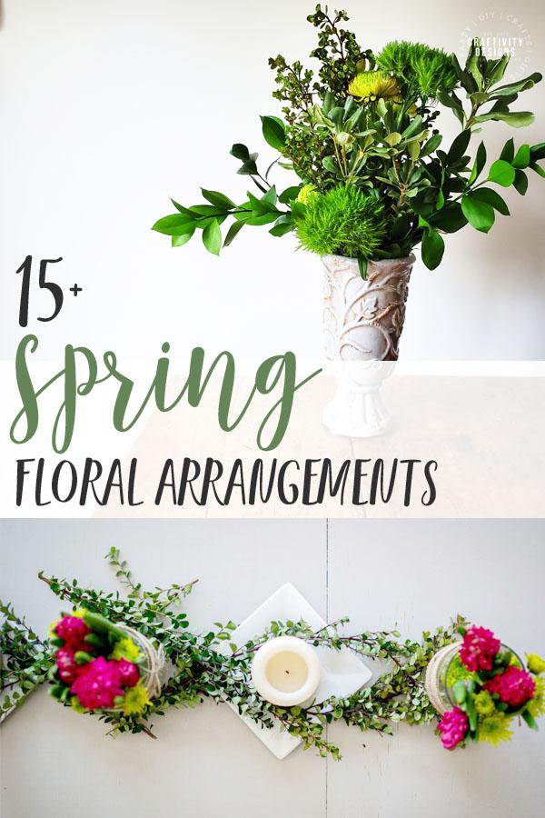 15+ Spring Floral Arrangements