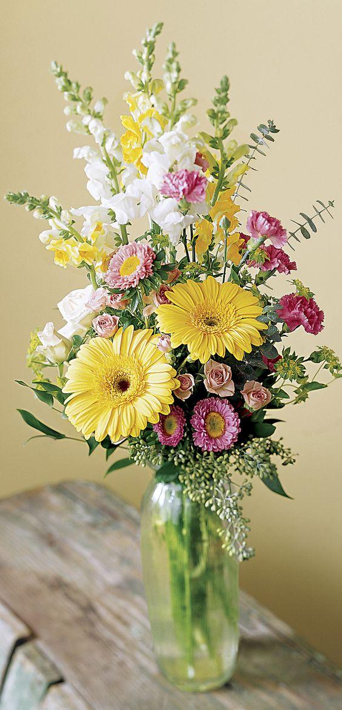 15 spring floral arrangement ideas craftivity designs 15 spring floral arrangement ideas yellow pink green mightylinksfo