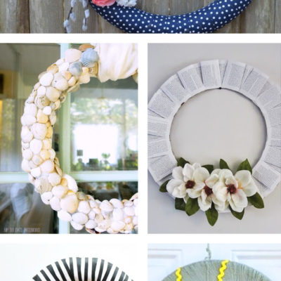 13 Spring Wreath Ideas // Kick Off Friday