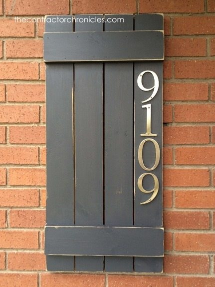 diy house number sign craftivity designs. Black Bedroom Furniture Sets. Home Design Ideas
