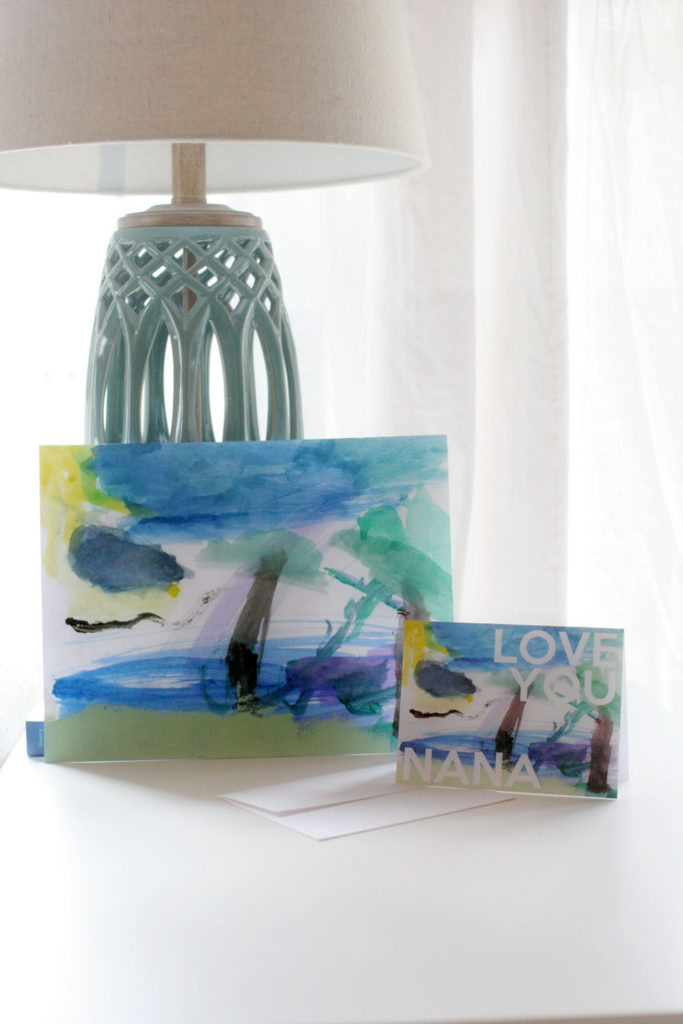 3 Gifts made from Art. Make a gift for Mother's Day from a child's artwork. by @CraftivityD