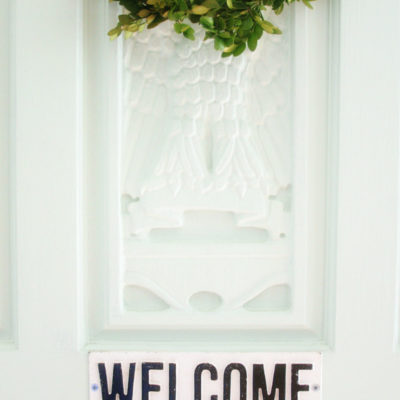 Entry Way Spring Tour and Blog Hop