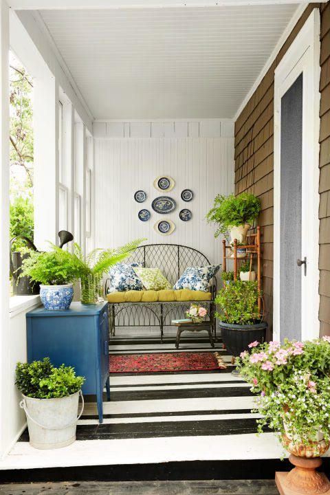 A Garden Porch // Get the Look - Craftivity Designs on Country Patio Ideas id=74189