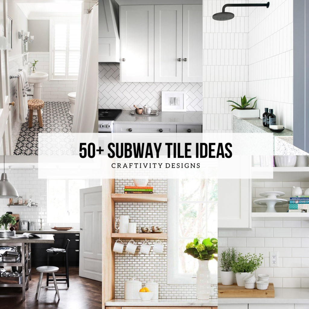 50 subway tile ideas_fb