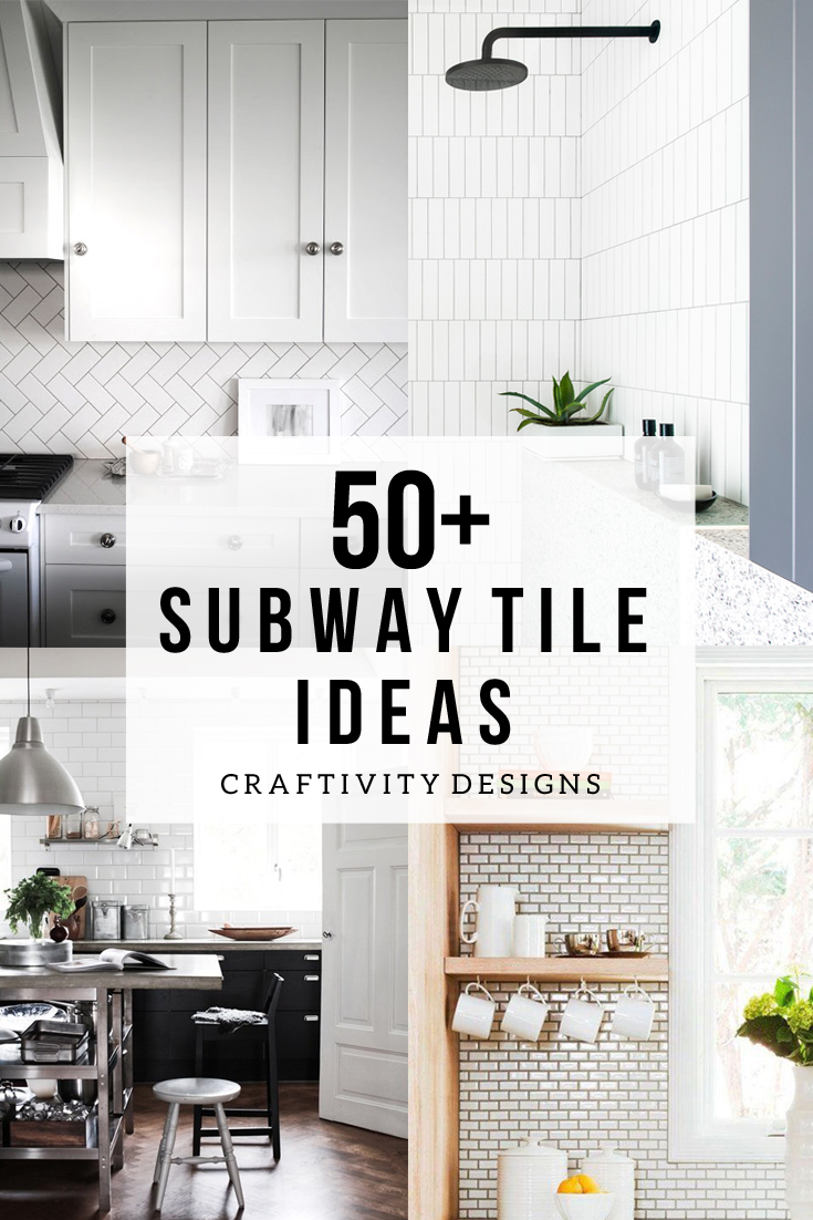 50 Subway Tile Ideas Free Pattern Template