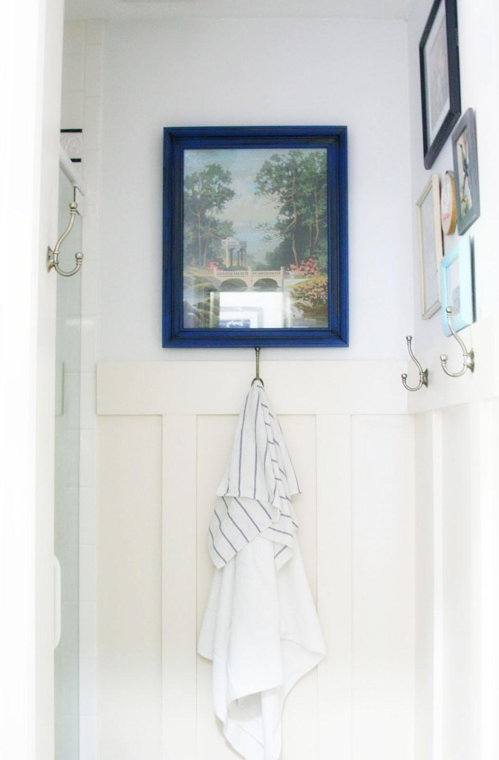 Navy and White Bathroom Renovation – Craftivity Designs