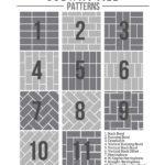 Subway Tile Pattern Template