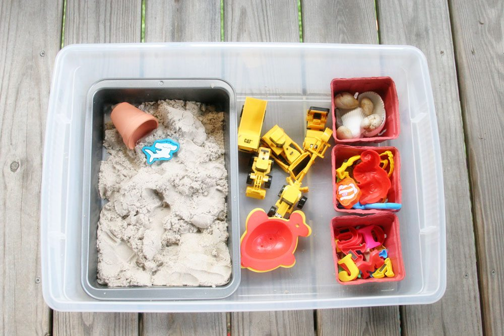 DIY Portable Sandbox