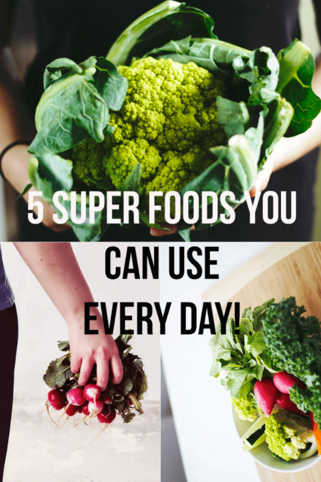 5 Super Foods You Can Use Everyday by @aldentegourmet