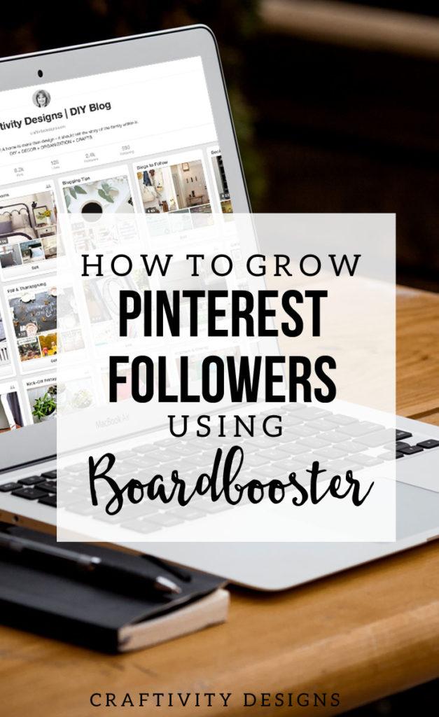 How to Grow Pinterest Followers with Boardbooster, Boardbooster Review, Increase Pinterest Followers, Pin Scheduler @CraftivityD