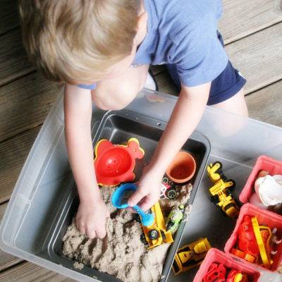 How to Make a Portable Sandbox