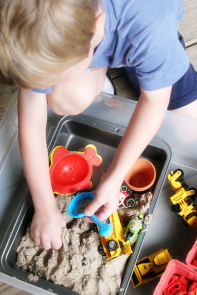 How to Make a Portable Sandbox