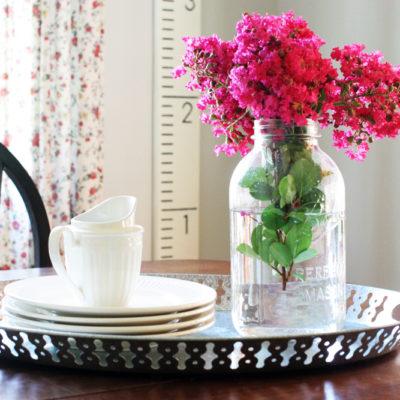 Farmhouse Style Breakfast Nook Reveal