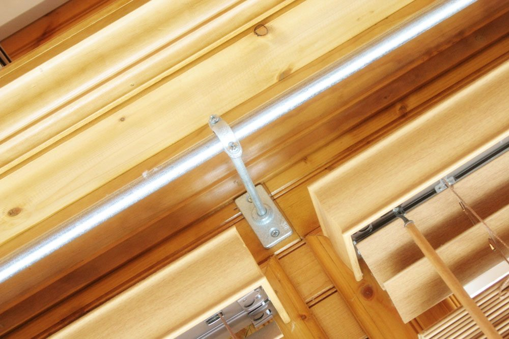Long Curtain Rods for Sunrooms and Big Windows ...