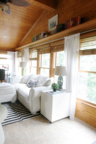 Long Curtain Rods for Sunrooms and Big Windows