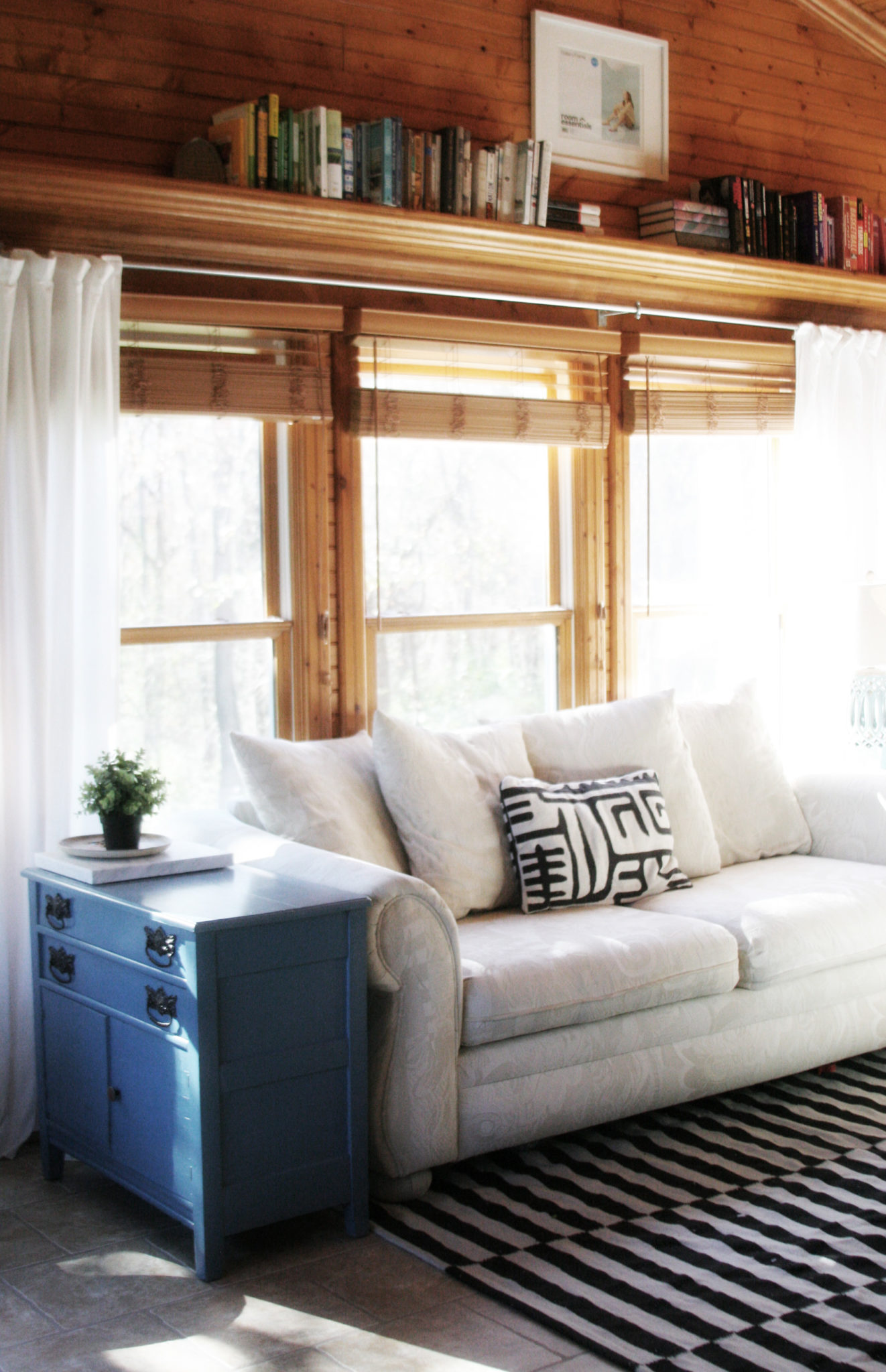 DIY Long Curtain Rod for Large Rooms - Craftivity Designs