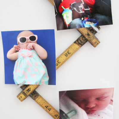 DIY Photo Display in 5 Minutes