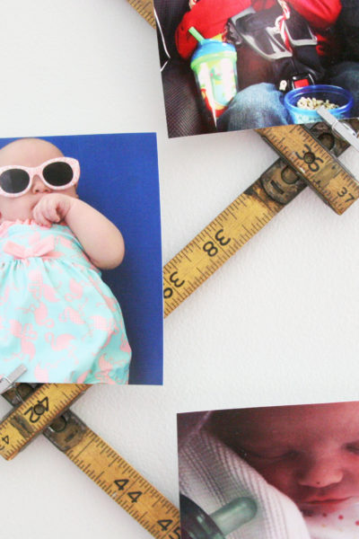 DIY Photo Display in 5 Minutes
