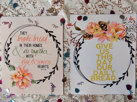 The Fruit of the Spirit Artwork, Fall Scripture Art, Apple Art, Printable + A GIVEAWAY!