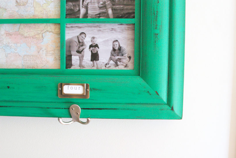 DIY Command Center, Simple Command Center, Entry Way Wall Hooks, Entry Way Coat Hooks, Back to School by @CraftivityD