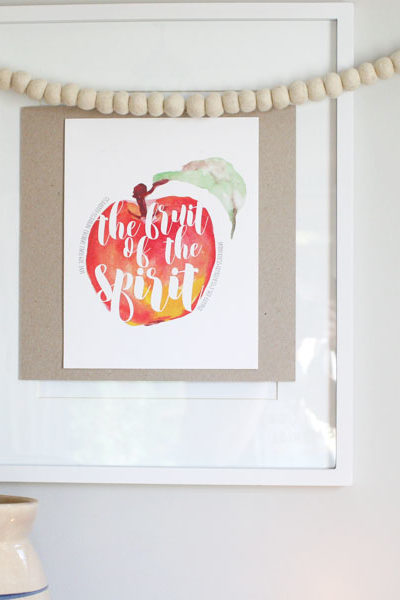 Fall Scripture Art + a Giveaway