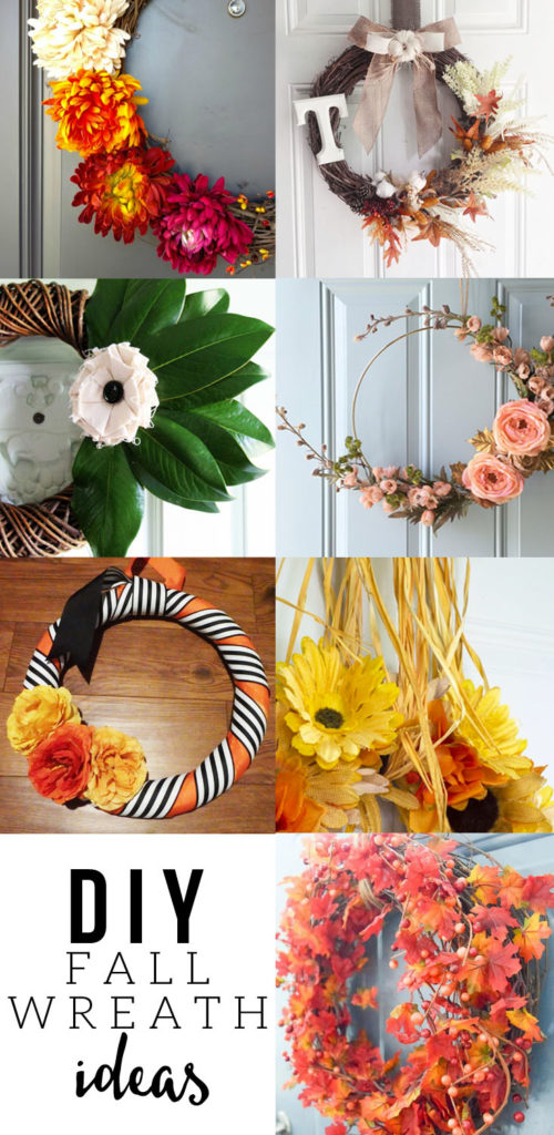 DIY Fall Wreath Ideas, Simple DIY Magnolia Wreath by @CraftivityD