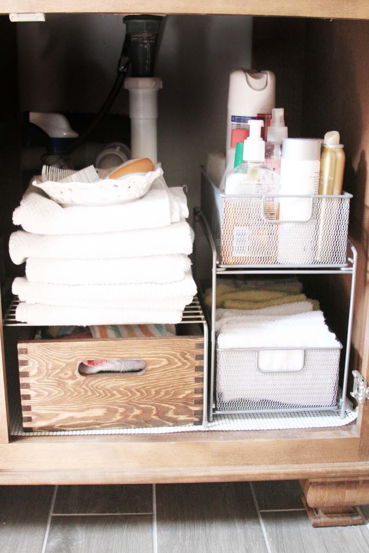 Bathroom organizers ideas - Easy Bathroom Organization Ideas For A Quick And Stylish Refresh Craftivityd
